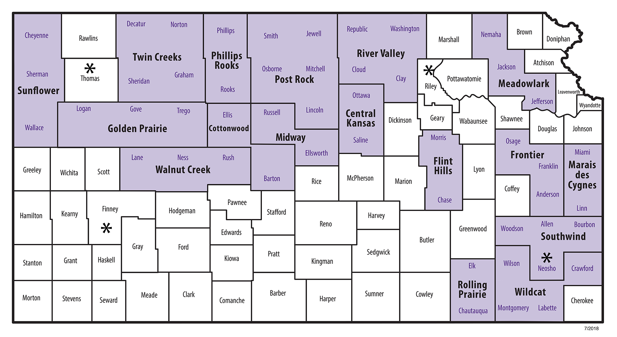 County Map 2019